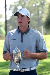 Ben Corfee - 2016 Memorial Amateur Chamption