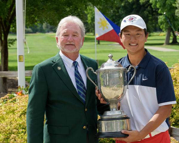 John Rochelle and Alex Lee from the 2017 Memorial Amateur Championship